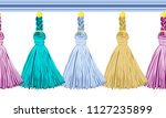 seamless border pattern ... | Shutterstock .eps vector #1127235899