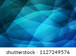 light blue vector low poly... | Shutterstock .eps vector #1127249576