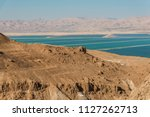 view of the dead sea from the... | Shutterstock . vector #1127262713