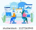 concept development team ... | Shutterstock .eps vector #1127263943