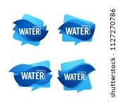 natural spring water  vector ... | Shutterstock .eps vector #1127270786
