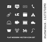 modern  simple vector icon set... | Shutterstock .eps vector #1127273390