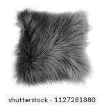 Fluffy Decorative Pillow On...