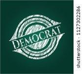 democrat on blackboard | Shutterstock .eps vector #1127302286