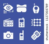 simple set of technology vector ... | Shutterstock .eps vector #1127303789