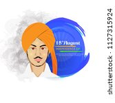 vector illustration of... | Shutterstock .eps vector #1127315924