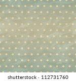 texture of crumpled retro paper ... | Shutterstock .eps vector #112731760