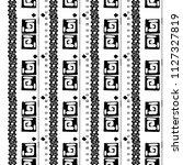 ethnic boho seamless pattern.... | Shutterstock .eps vector #1127327819