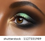 macro and close up creative... | Shutterstock . vector #1127331989