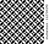 seamless geometric texture.... | Shutterstock .eps vector #112734190