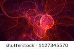 3d rendering abstract fractal...   Shutterstock . vector #1127345570