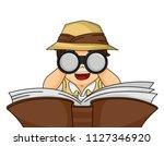 illustration of a kid boy... | Shutterstock .eps vector #1127346920
