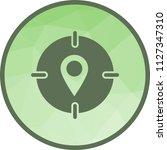 target location i | Shutterstock .eps vector #1127347310