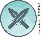 two swords icon | Shutterstock .eps vector #1127347463