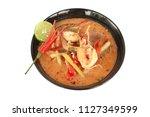 tom yam koong   thai spicy... | Shutterstock . vector #1127349599