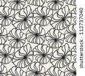 vector seamless pattern. modern ... | Shutterstock .eps vector #112737040