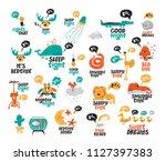 big vector collection set of...   Shutterstock .eps vector #1127397383