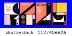 summer colorful poster design... | Shutterstock .eps vector #1127406626