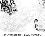 Beautiful Monochrome Background