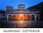 beautiful view of the orthodox... | Shutterstock . vector #1127416118