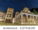 beautiful view of the orthodox... | Shutterstock . vector #1127416130