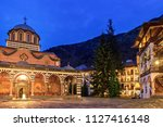 beautiful view of the orthodox... | Shutterstock . vector #1127416148