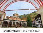 beautiful view of the orthodox... | Shutterstock . vector #1127416160