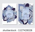 stock vector art brochure... | Shutterstock .eps vector #1127428328
