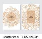 stock vector art brochure... | Shutterstock .eps vector #1127428334