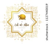vector muslim holiday eid al... | Shutterstock .eps vector #1127440019