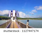 landscape at tuyen lam lake ...   Shutterstock . vector #1127447174