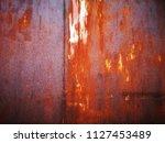 metal rust backgrounds | Shutterstock . vector #1127453489
