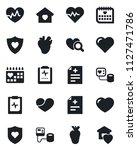 set of vector isolated black... | Shutterstock .eps vector #1127471786