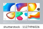 liquid design presentation... | Shutterstock .eps vector #1127496026