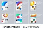 liquid design presentation...   Shutterstock .eps vector #1127496029
