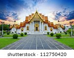 traditional thai architecture ... | Shutterstock . vector #112750420