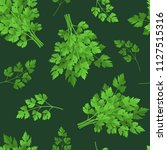 realistic detailed 3d green raw ... | Shutterstock .eps vector #1127515316