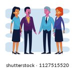 business executive people | Shutterstock .eps vector #1127515520