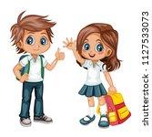 cartoon vector illustration of...   Shutterstock .eps vector #1127533073