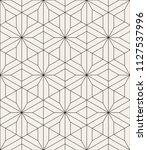 vector seamless pattern. modern ... | Shutterstock .eps vector #1127537996