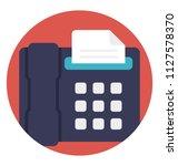 telephonic transmission of... | Shutterstock .eps vector #1127578370