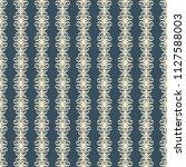 seamless raster decorative... | Shutterstock . vector #1127588003