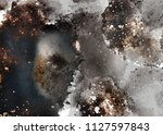 abstract explosion and vintage... | Shutterstock . vector #1127597843