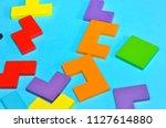 concept of creative  logical... | Shutterstock . vector #1127614880