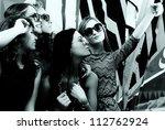 fashionable girls   Shutterstock . vector #112762924