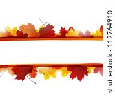 vector illustration of autumn... | Shutterstock .eps vector #112764910