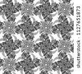 decorative composition  ... | Shutterstock . vector #1127651873