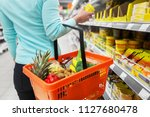 sale  shopping  consumerism and ... | Shutterstock . vector #1127680478