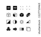 simple set of business... | Shutterstock .eps vector #1127710463