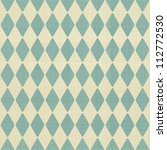 abstract geometric retro... | Shutterstock .eps vector #112772530